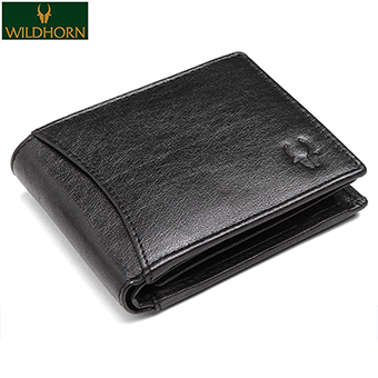 WildHorn RFID Protected Leather Wallet