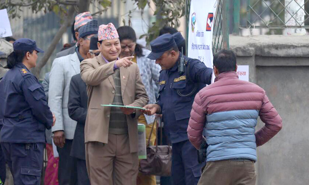 Nepal National Assembly election: 99.52 percent voter turn out